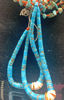 Picture of Turquoise Necklace with Coral